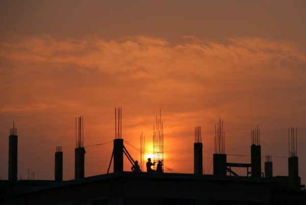 sun-rising-on-construction-site